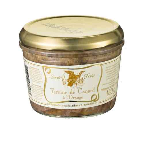 Ententerrine mit Orange - Beauharnais 180g